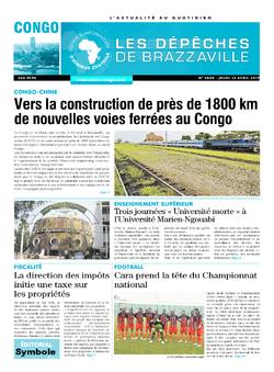 Les Dépêches de Brazzaville : Édition brazzaville du 13 avril 2017
