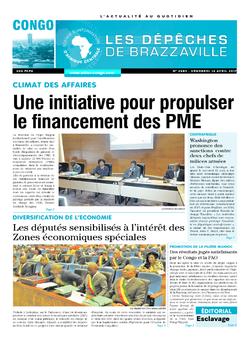 Les Dépêches de Brazzaville : Édition brazzaville du 14 avril 2017