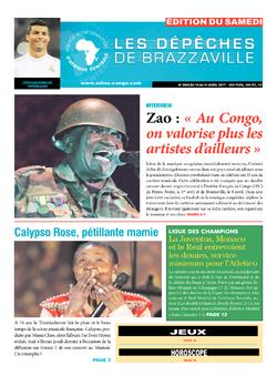 Les Dépêches de Brazzaville : Édition du 6e jour du 15 avril 2017