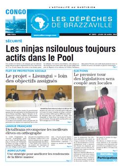 Les Dépêches de Brazzaville : Édition brazzaville du 20 avril 2017