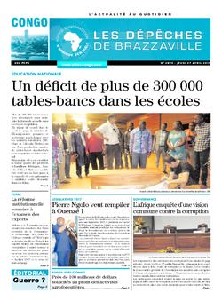 Les Dépêches de Brazzaville : Édition brazzaville du 27 avril 2017