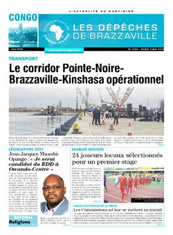 Les Dépêches de Brazzaville : Édition brazzaville du 02 mai 2017