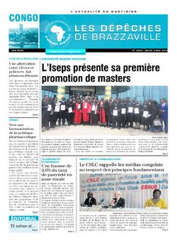 Les Dépêches de Brazzaville : Édition brazzaville du 04 mai 2017