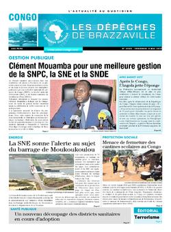 Les Dépêches de Brazzaville : Édition brazzaville du 05 mai 2017
