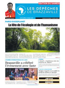 Les Dépêches de Brazzaville : Édition du 6e jour du 06 mai 2017