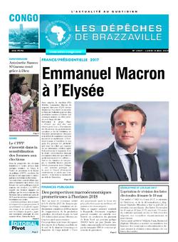 Les Dépêches de Brazzaville : Édition brazzaville du 08 mai 2017