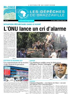 Les Dépêches de Brazzaville : Édition kinshasa du 09 mai 2017