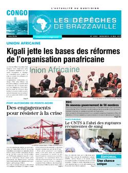 Les Dépêches de Brazzaville : Édition brazzaville du 10 mai 2017