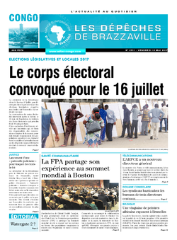 Les Dépêches de Brazzaville : Édition brazzaville du 12 mai 2017