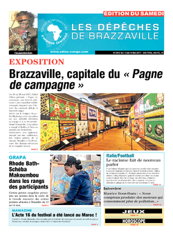 Les Dépêches de Brazzaville : Édition du 6e jour du 13 mai 2017