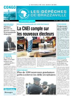 Les Dépêches de Brazzaville : Édition brazzaville du 15 mai 2017