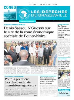 Les Dépêches de Brazzaville : Édition brazzaville du 17 mai 2017