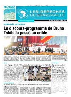 Les Dépêches de Brazzaville : Édition kinshasa du 17 mai 2017
