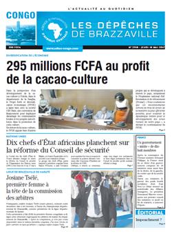 Les Dépêches de Brazzaville : Édition brazzaville du 18 mai 2017
