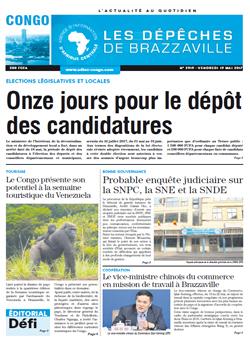Les Dépêches de Brazzaville : Édition brazzaville du 19 mai 2017