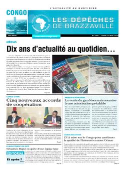Les Dépêches de Brazzaville : Édition brazzaville du 22 mai 2017