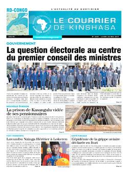 Les Dépêches de Brazzaville : Édition kinshasa du 22 mai 2017