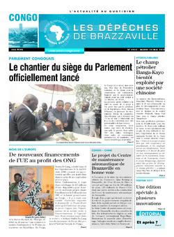 Les Dépêches de Brazzaville : Édition brazzaville du 23 mai 2017