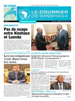Les Dépêches de Brazzaville : Édition kinshasa du 26 mai 2017