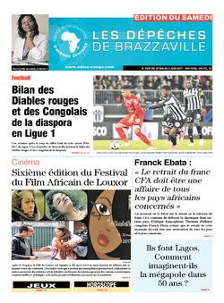 Les Dépêches de Brazzaville : Édition du 6e jour du 27 mai 2017