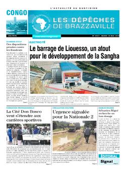 Les Dépêches de Brazzaville : Édition brazzaville du 30 mai 2017