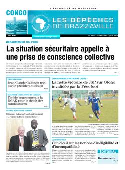 Les Dépêches de Brazzaville : Édition brazzaville du 02 juin 2017