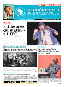 Les Dépêches de Brazzaville : Édition du 6e jour du 03 juin 2017