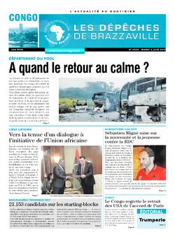 Les Dépêches de Brazzaville : Édition brazzaville du 06 juin 2017