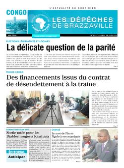Les Dépêches de Brazzaville : Édition brazzaville du 12 juin 2017