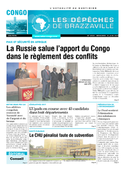 Les Dépêches de Brazzaville : Édition brazzaville du 14 juin 2017