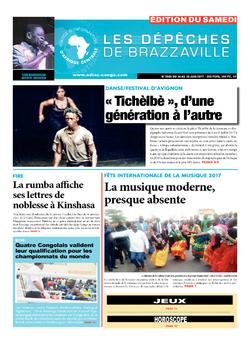 Les Dépêches de Brazzaville : Édition du 6e jour du 24 juin 2017