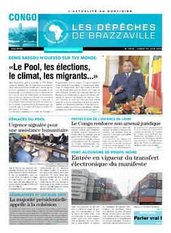 Les Dépêches de Brazzaville : Édition brazzaville du 26 juin 2017