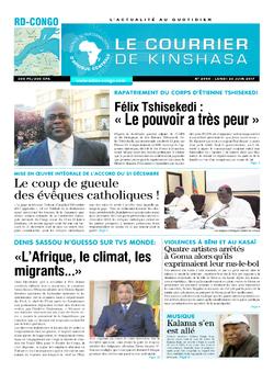 Les Dépêches de Brazzaville : Édition le courrier de kinshasa du 26 juin 2017