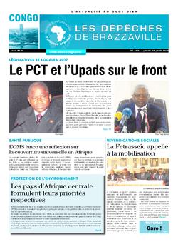 Les Dépêches de Brazzaville : Édition brazzaville du 29 juin 2017