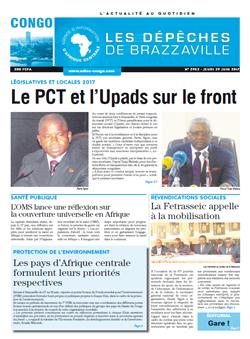 Les Dépêches de Brazzaville : Édition brazzaville du 30 juin 2017