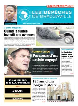 Les Dépêches de Brazzaville : Édition du 6e jour du 08 juillet 2017