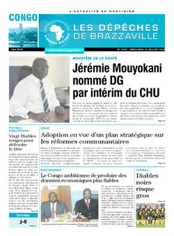 Les Dépêches de Brazzaville : Édition brazzaville du 12 juillet 2017