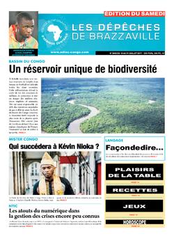 Les Dépêches de Brazzaville : Édition du 6e jour du 15 juillet 2017
