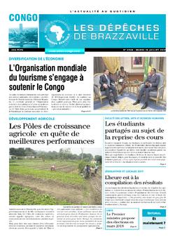 Les Dépêches de Brazzaville : Édition brazzaville du 18 juillet 2017