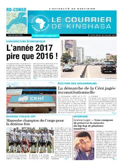 Les Dépêches de Brazzaville : Édition brazzaville du 20 juillet 2017