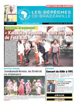 Les Dépêches de Brazzaville : Édition du 6e jour du 22 juillet 2017
