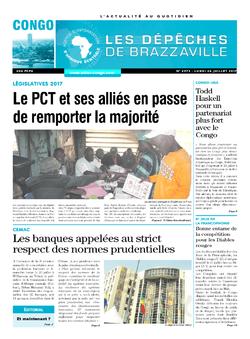 Les Dépêches de Brazzaville : Édition brazzaville du 24 juillet 2017