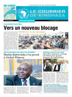Les Dépêches de Brazzaville : Édition le courrier de kinshasa du 26 juillet 2017