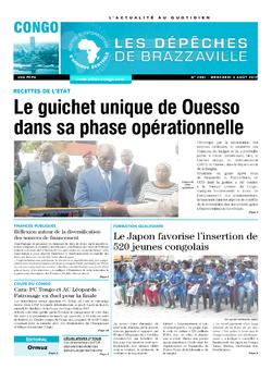 Les Dépêches de Brazzaville : Édition brazzaville du 02 août 2017