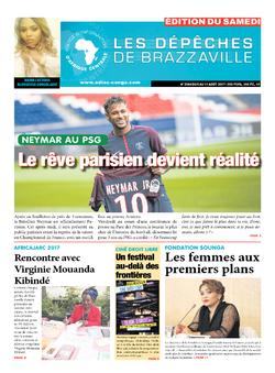 Les Dépêches de Brazzaville : Édition du 6e jour du 05 août 2017