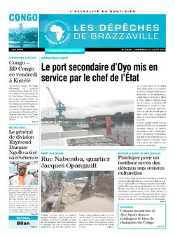 Les Dépêches de Brazzaville : Édition brazzaville du 11 août 2017