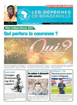 Les Dépêches de Brazzaville : Édition du 6e jour du 12 août 2017