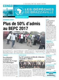 Les Dépêches de Brazzaville : Édition brazzaville du 14 août 2017