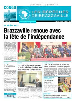 Les Dépêches de Brazzaville : Édition brazzaville du 17 août 2017