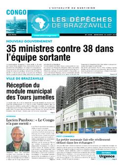 Les Dépêches de Brazzaville : Édition brazzaville du 23 août 2017